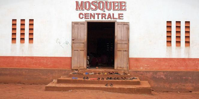 La mosquée de Bangassou, en République centrafricaine, où les villageois se sont réfugiés pour échapper aux affrontements entre ex-Séléka et anti-balaka le 13 mai 2017