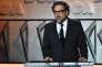 Le cinéaste Alejandro González Iñarritu lors d'un discours aux 69es Annual Directors Guild of America Awards à Beverly Hills (Californie), le 4 février 2017.