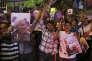 Manifestation en faveur de la réélection du président Hassan Rouhani, à Téhéran, le 17mai.