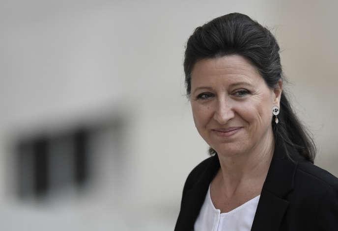 Agnès Buzyn, le 18 mai à l'Elysée.