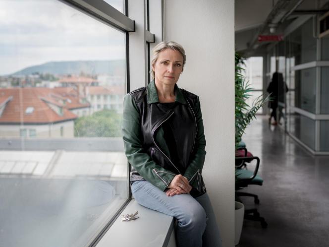 Sylvie Droit-Volet, professeure de psychologie à l'Université Clermont-Auvergne, le 18 mai 2017.