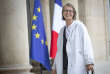 Françoise Nyssen, ministre de la culture, à l'Elysée, à Paris, le 18 mai.