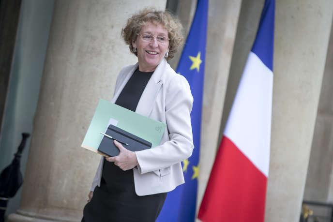 Muriel Pénicaud, ministre du travail, à l'Elysée, jeudi 18 mai.