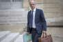 Jean-Michel Blanquer, ministre de l'éducation nationale, participe au Conseil des ministres au Palais de l'Elysée à Paris, jeudi 18 mai 2017
