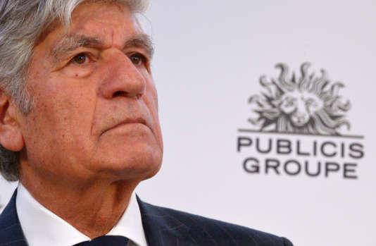 Maurice Lévy, le président du conseil de surveillance de Publicis.