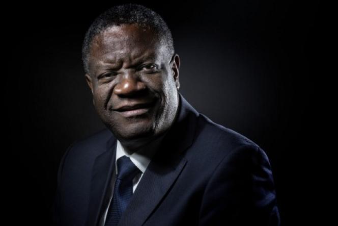Le Dr Denis Mukwege à Paris, octobre 2016.