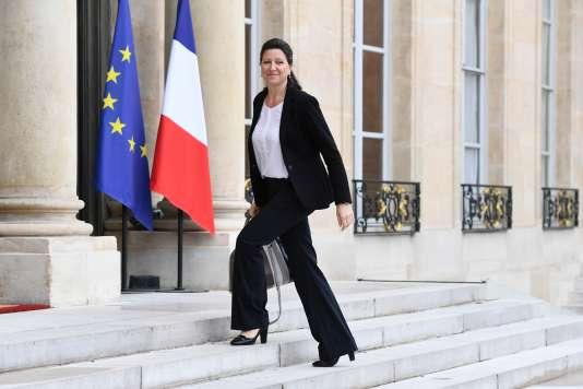 La ministre de la santé Agnès Buzyn à l'Elysée, le 18 mai