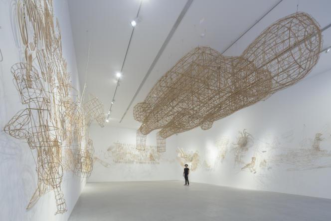 Exposition« Mountains and Seas» d'Ai Weiwei,au château La Coste.