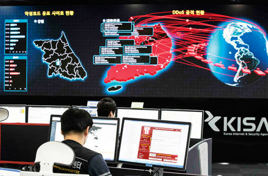 WannaCry s'est diffusé dans plus de 150 pays.