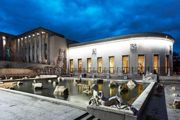 Le Musée d'art moderne de la Ville de Paris.