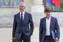 Bruno Le Maire, ministre de l'Economie, et Nicolas Hulot, ministre de la Transition écologique et solidaire, le 18 mai.