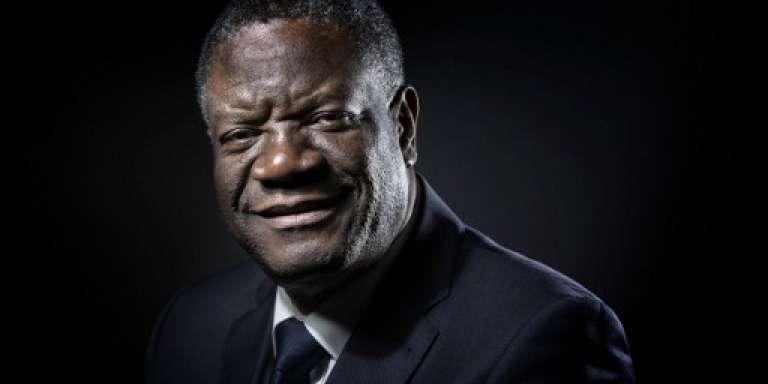 Le gynécologue congolais Denis Mukwege, à Paris, le 24 octobre 2016.