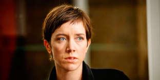 Sara Giraudeau dans la saison 3 de la série « Le Bureau des légendes» sur Canal+.