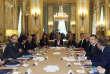 Premier conseil des ministres du quinquennat Macron, jeudi 18 mai, à l'Elysée.