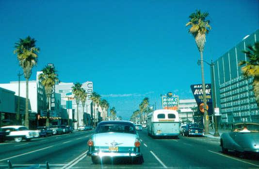 Les rues de Los Angeles, décor de cinéma à ciel ouvert.