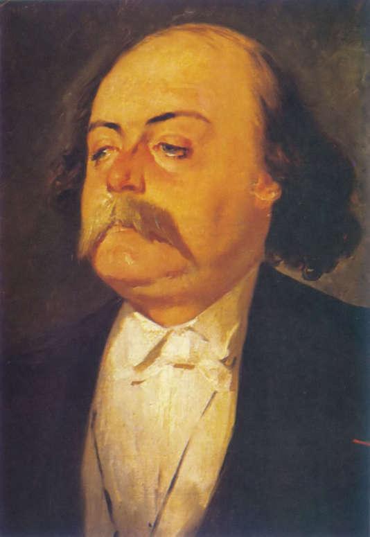 Portrait de Gustave Flaubert, auteur de «Madame Bovary» (1857), par le peintre Eugène Giraud, vers 1856.