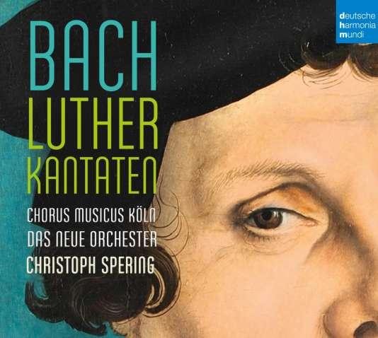 Pochette de l'album« Luther Kantaten», de Johann-Sebastian Bach.