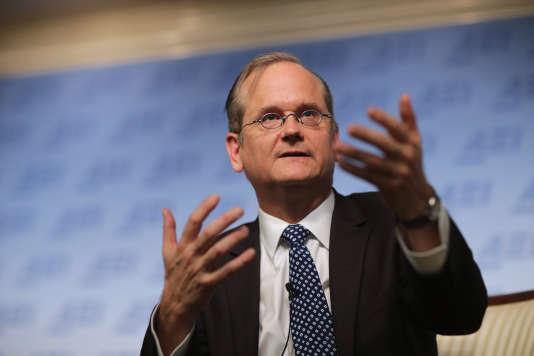 Lawrence Lessig en novembre 2015 à Washington.