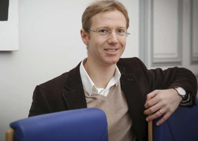 Antoine Bozio, directeur de l'institut des politiques publiques, en janvier 2016.