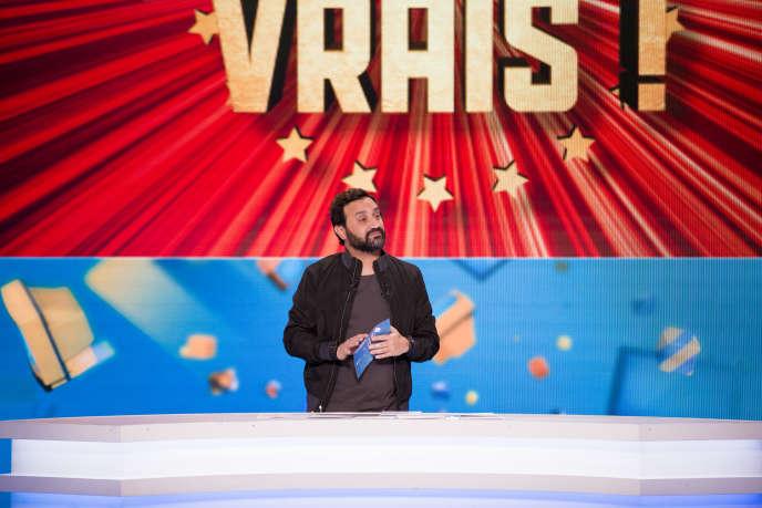 Cyril Hanouna sur le plateau de «Touche pas à mon poste!» le 20 avril.