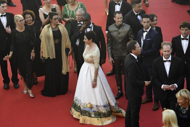 La ministre de la culture israélienne, Miri Regev, le 17 mai à Cannes.