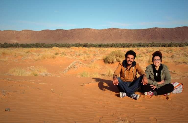 Anass et Amal Yakines marcheurs et amoureux fous.