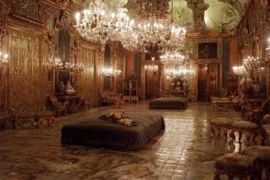 Le palais Gangi, à Palerme, celui de la fameuse scène de bal du« Guépard»