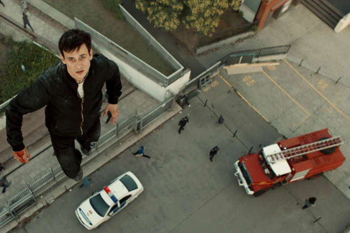 Tamas Szabo Kimmel dans le film hongrois deKornel Mundruczo,«La Lune de Jupiter» («Jupiter's Moon»).