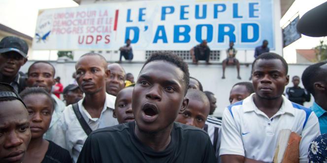 A Kinshasa, le 2 février 2017.