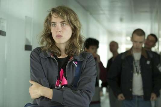 Adèle Haenel dans le film français de Robin Campillo, « 120 battements par minute ».