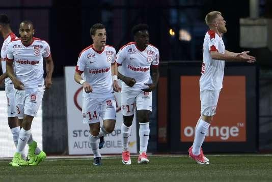 Le but de Busin ramenait les Nancéiens à égalité de points avec Bastia et Lorient.