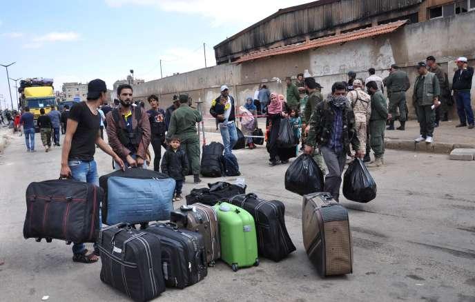 Evacuation de Homs, samedi 20 mai.