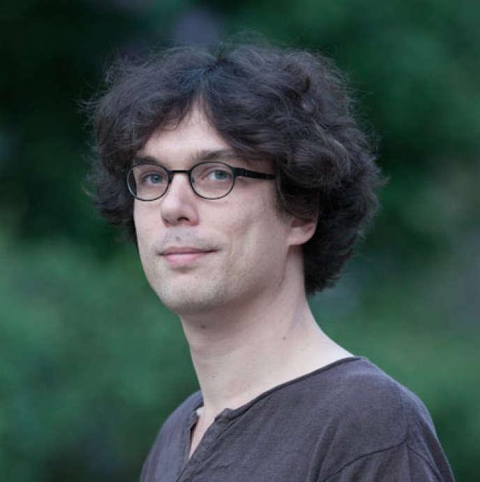 Nicolas Baumard,chercheur au département d'études cognitives de l'Ecole normale supérieure, 38ans.