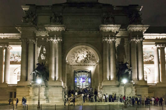 Le Palais de la découverte à Paris.