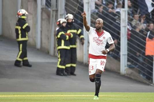 Younousse Sankharé a marqué le premier but de la dernière journée, à Lorient. Bordeaux est alors en Ligue Europa.