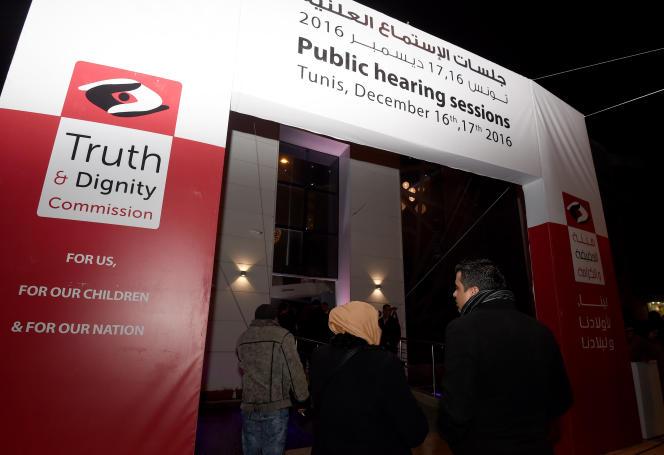 Le bâtiment de l'Instance vérité et dignité, en décembre 2016.