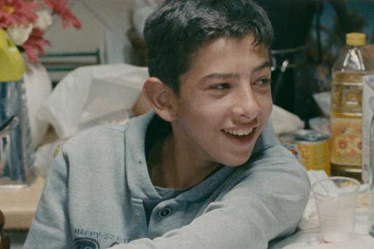 Pio Amato dans le film italien de Jonas Carpignano,« A Ciambra».