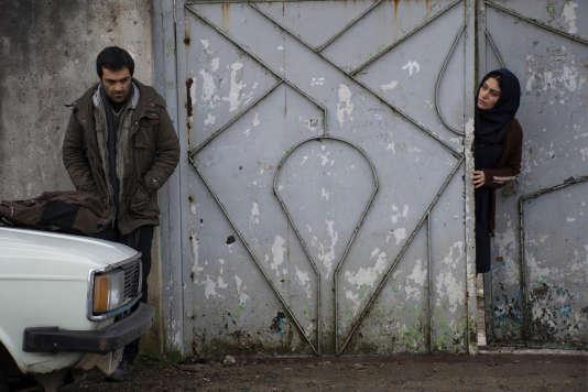 Reza Akhlaghirad et Soudabeh Beizaee dans le film iranien deMohammad Rasoulof,«Un homme intègre» («Lerd»).