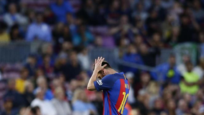 Lionel Messi pourrait finir la saison sans titre si le Barça ne gagne pas la finale de la Coupe du Roi face à Alavès.
