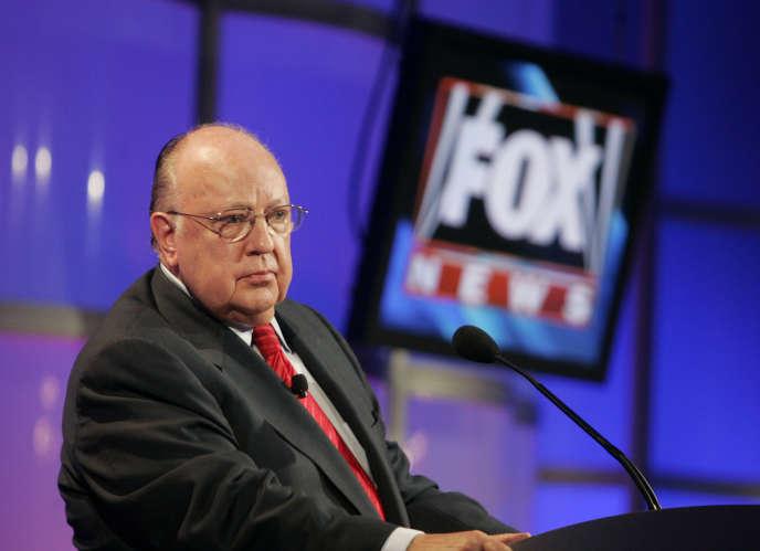 Roger Ailes, fondateur de Fox News, le 24 juillet 2006.