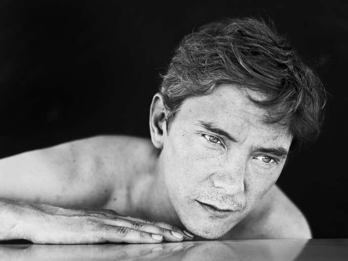 L'acteur français Swann Arlaudà Cannes, le 20 mai 2017.