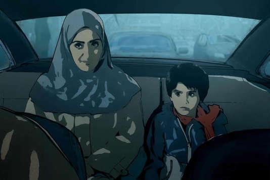 Une image extraite du filmallemand et autrichien d'Ali Soozandeh,«Téhéran Tabou» («Tehran Taboo»).