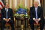 Donald Trump et le président égyptien Abdel Fattah Al-Sissi de bonne humeur, à Riyad (Arabie saoudite), le 21 mai.