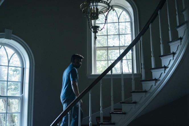 Colin Farrell dans le film britannique, irlandais et grec de Yorgos Lanthimos,«Mise à mort du cerf sacré» («The Killing of a Sacred Deer»).