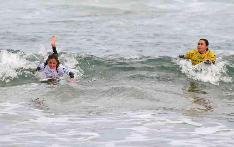 La finale des championnats du monde des nations de surf vient de s'achever, le 22 mai.