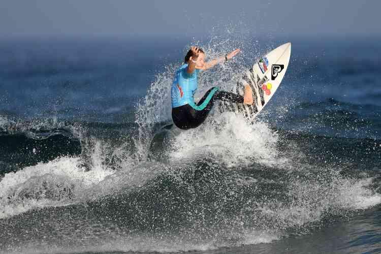 La Sud-Africaine Bianca Buitendag a fini à la quatrième place, remportant, avec un score de7,47points, la médaille de cuivre.