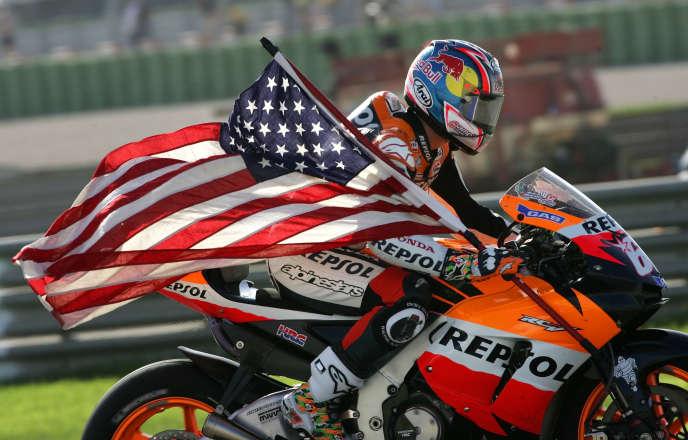 Nicky Hayden, en 2006.