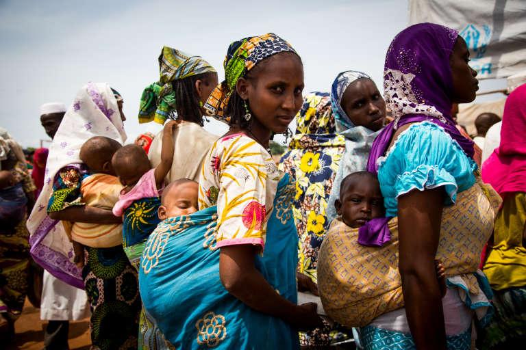 Dans le camp de réfugiés centrafricain de Mbilé, mi-mai 2017, dans l'est du Cameroun.