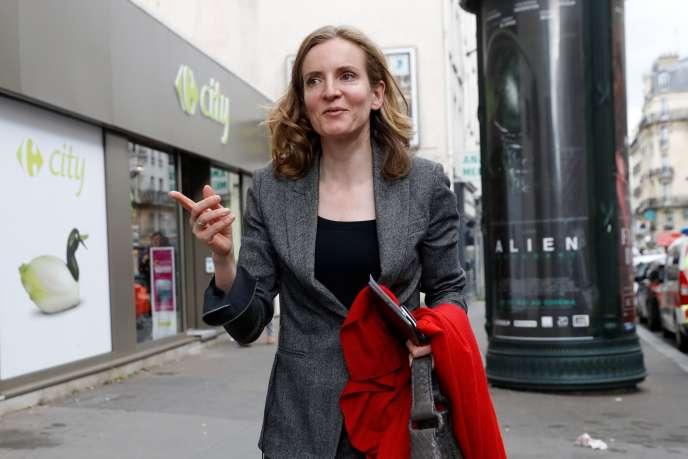 Nathalie Kosciusko-Morizet, candidate Les Républicains pour les législatives, à Paris, le 2 mai.