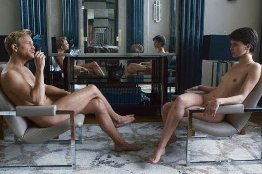 Jérémie Renier et Marine Vacth dans le film français de François Ozon,« L'Amant double», présenté en compétition au 70e Festival de Cannes et sorti en salles vendredi 26 mai 2017.